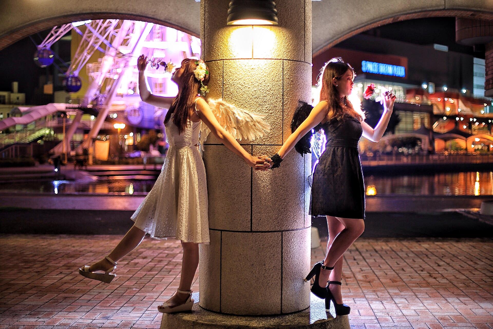 天使シリーズ 天使と堕天使